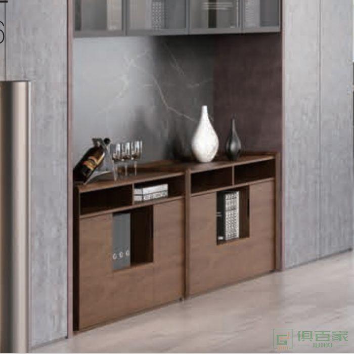 迪欧博尚家具博艺系列现代简约餐边柜茶水柜办公室收纳柜