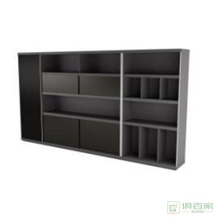 迪欧博尚家具智尚系列文件柜木质高柜老板办公室书柜简约
