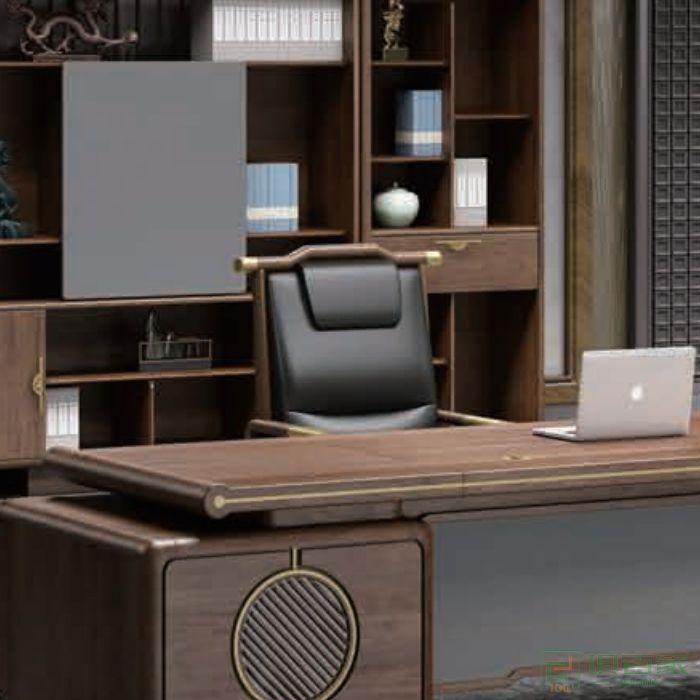 迪欧博尚家具行云系列老板椅时尚大班椅皮椅子人体工学椅