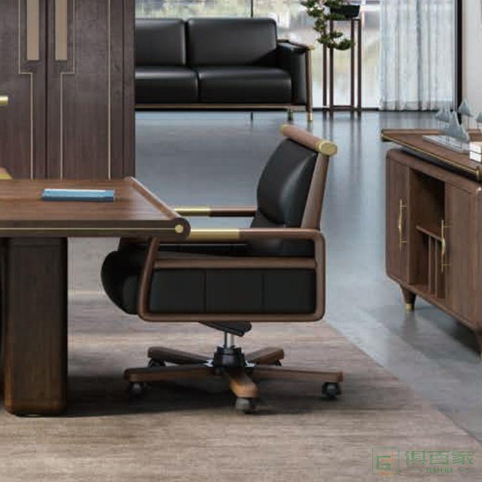 迪欧博尚家具行云系列老板椅时尚大班椅皮椅子主管