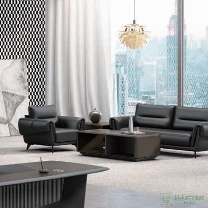 迪欧博尚家具时代系列实木岩板茶几现代风欧洲