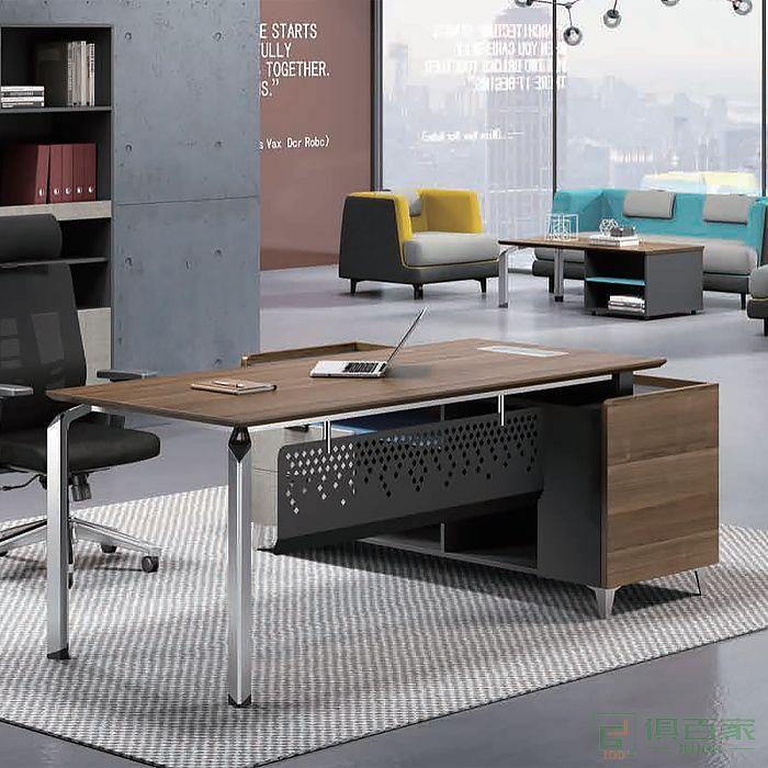 迪欧博尚家具思维系列班台老板桌