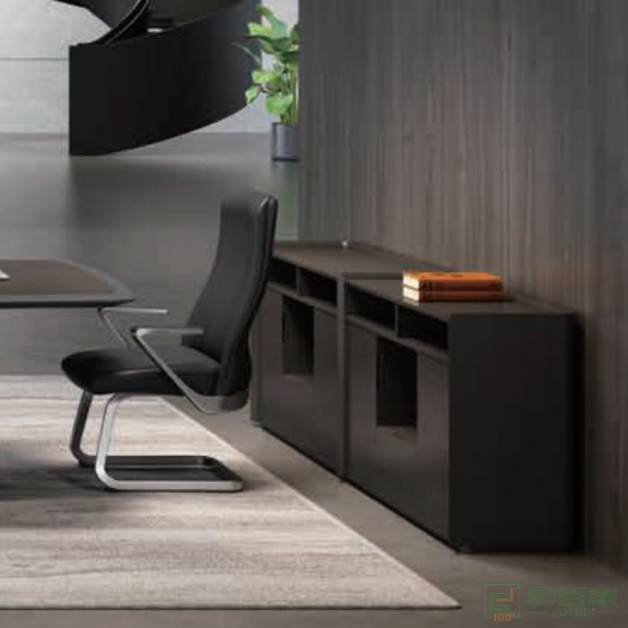 迪欧博尚家具时代系列文件柜资料柜茶水柜办公室矮柜子简约