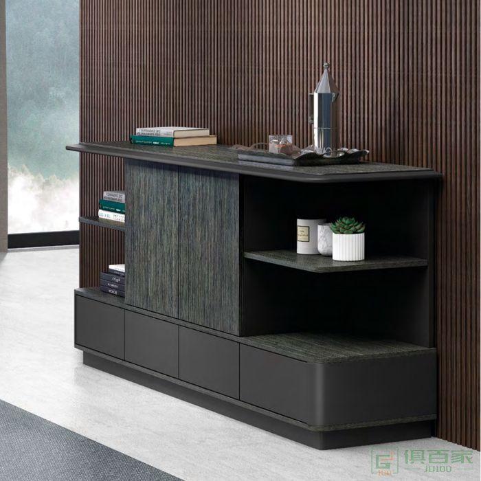 思进家具卡斯尔系列茶水柜矮柜文件柜