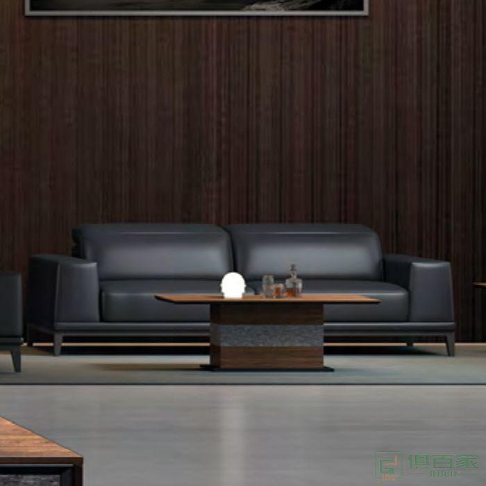 思进家具思喆系列现代简约茶几家用小户型办公室新中式泡茶桌