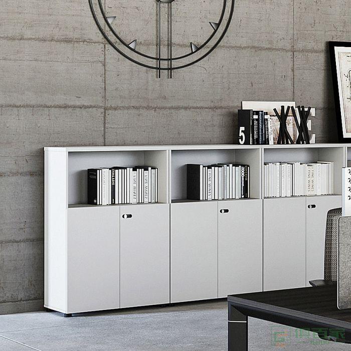 亿尚家具然易系列矮柜背柜文件柜