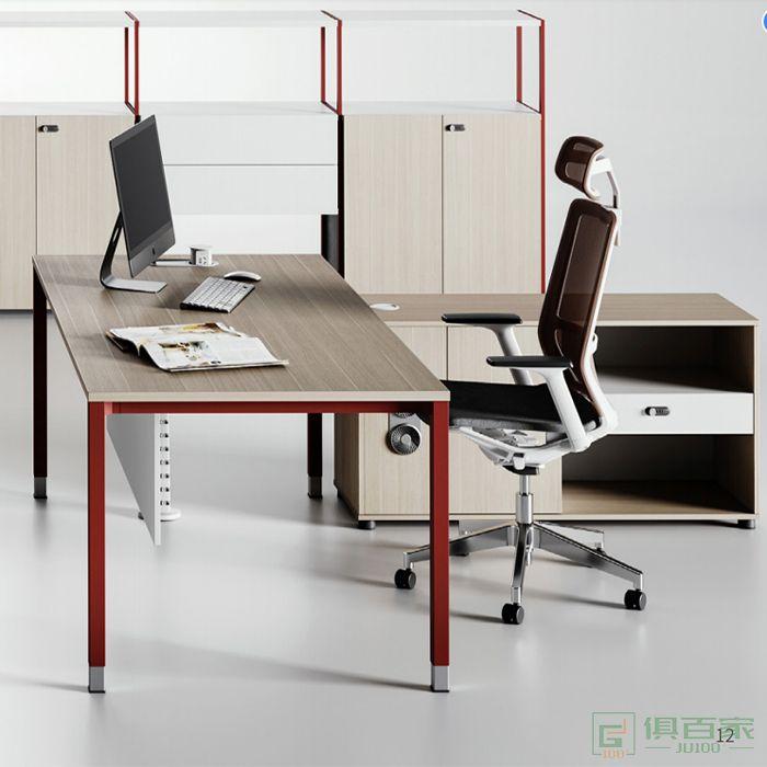 亿尚家具瑞尚系列办公桌老板桌简约现代大班台总裁桌经理桌