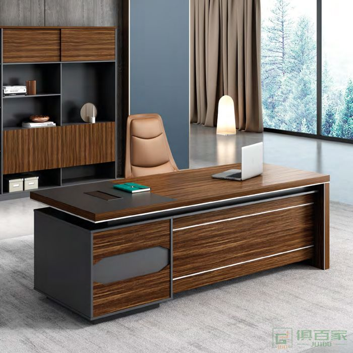思进家具面系列经理桌
