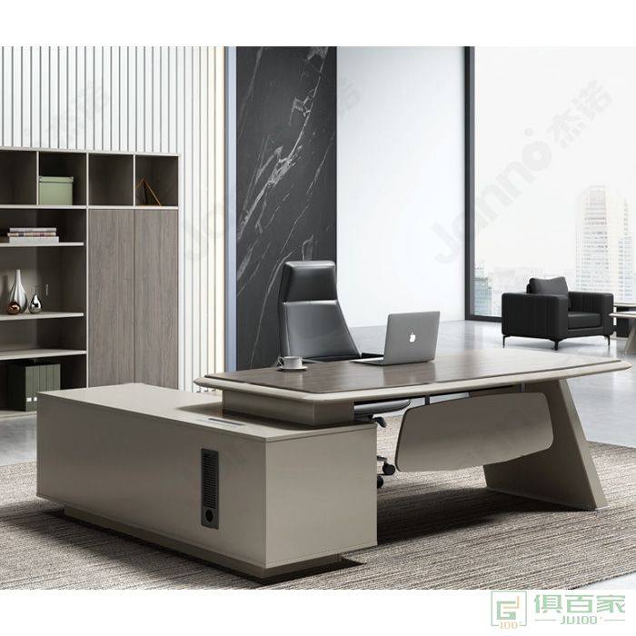 杰诺家具JR系列经理桌 中班台