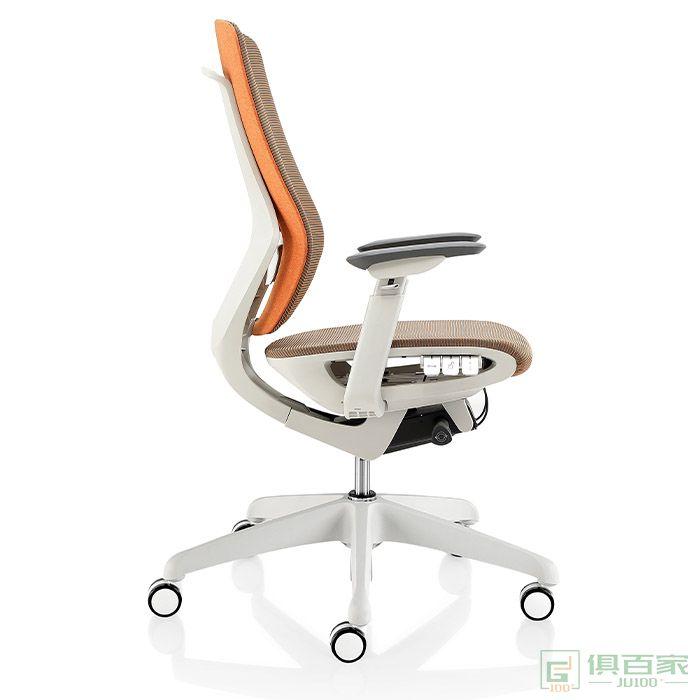 卓铭家具腰枕坚固经理椅简约简便人体办公椅经理