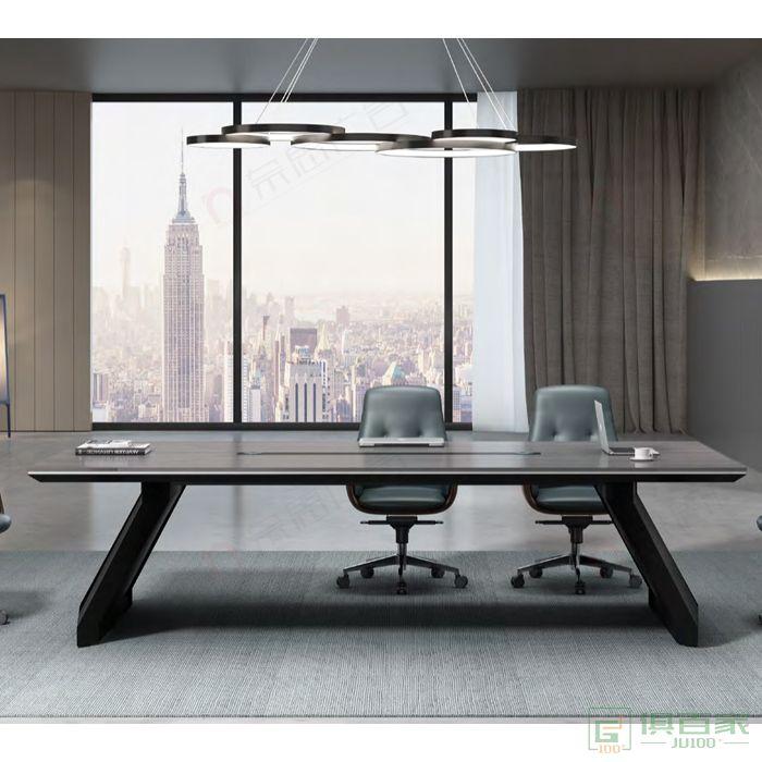 广立家具锐驰系列会议桌