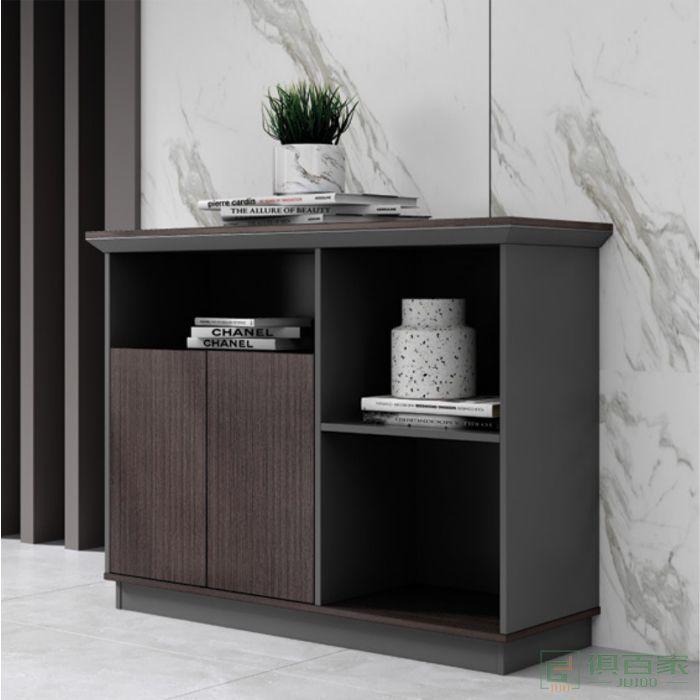 广立家具时代系列茶水柜文件柜木质资料柜