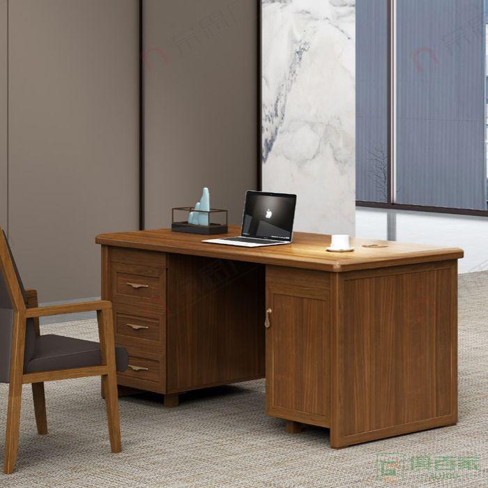广立家具观系列办公桌
