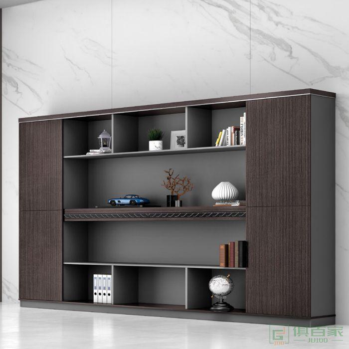 广立家具时代系列木质高柜老板办公室书柜