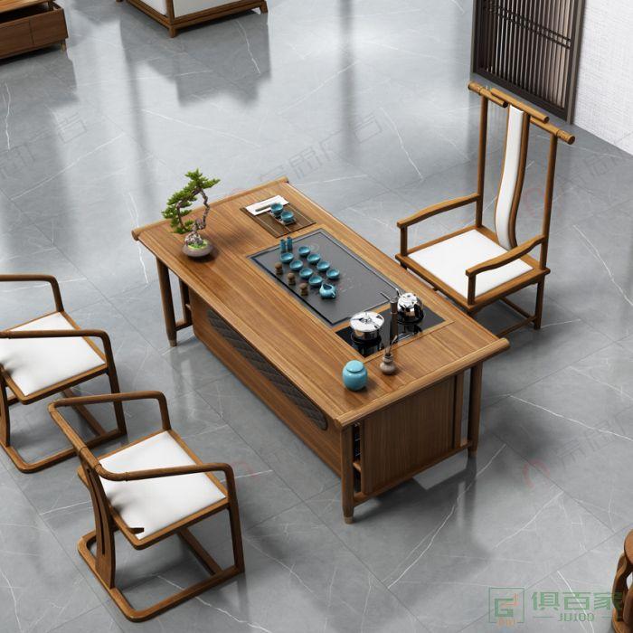 广立家具观系列茶台