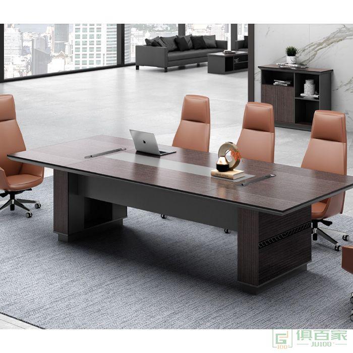 广立家具时代系列现代长条桌培训桌洽谈桌办公桌