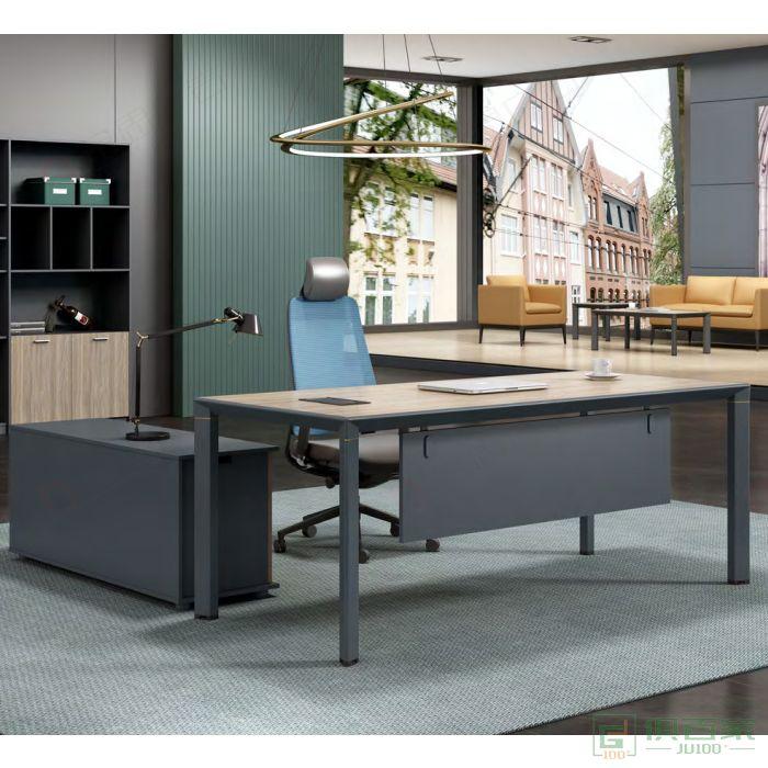 广立家具金跃系列经理桌主管桌