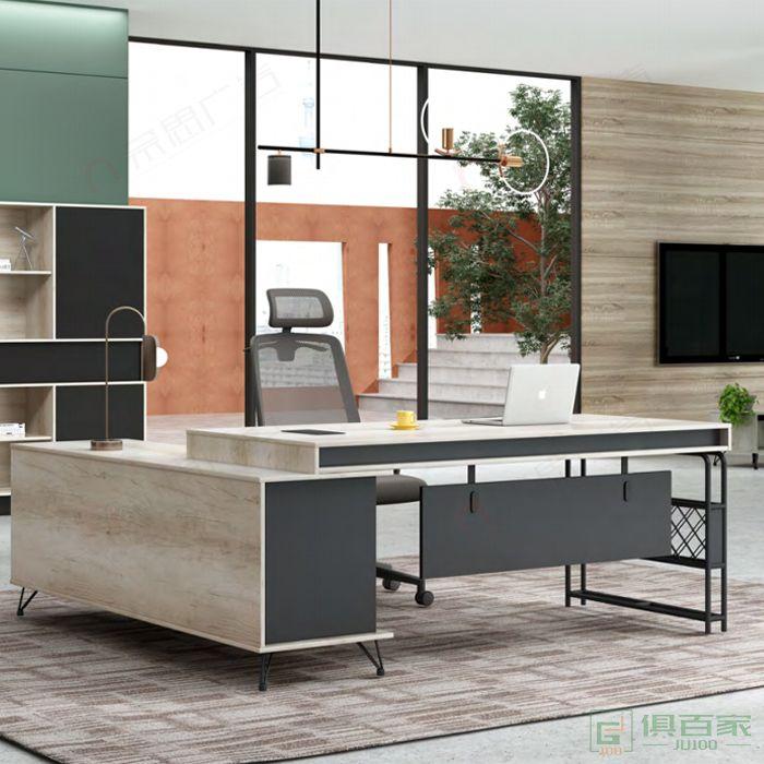 广立家具古典系列经理桌