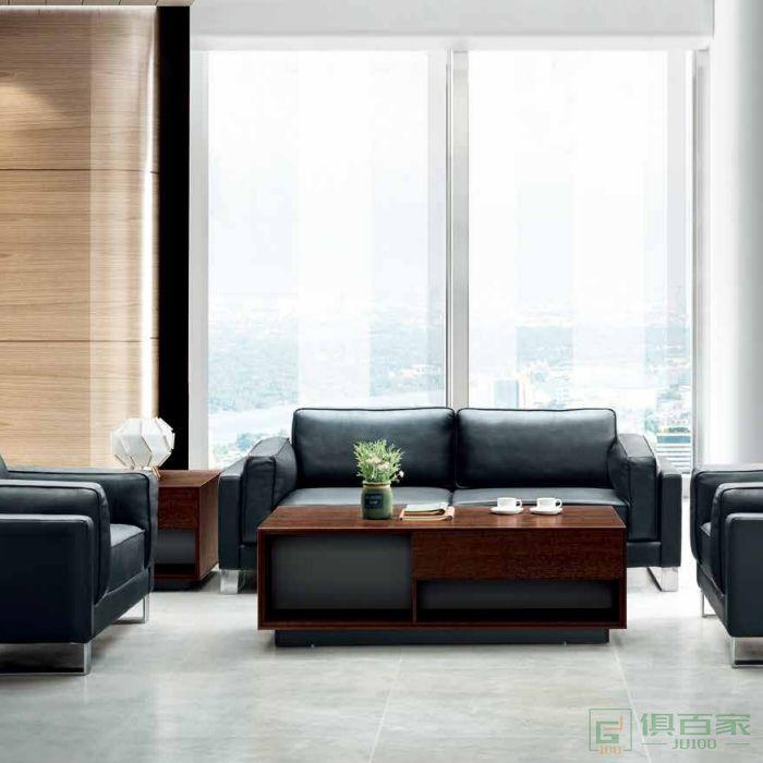 江南家具酷派系列办公室现代简约茶几桌客厅