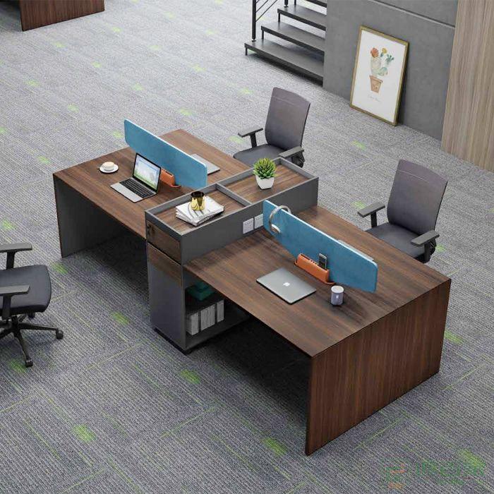 江南家具尚美系列员工位办公室商用屏风家具职员桌