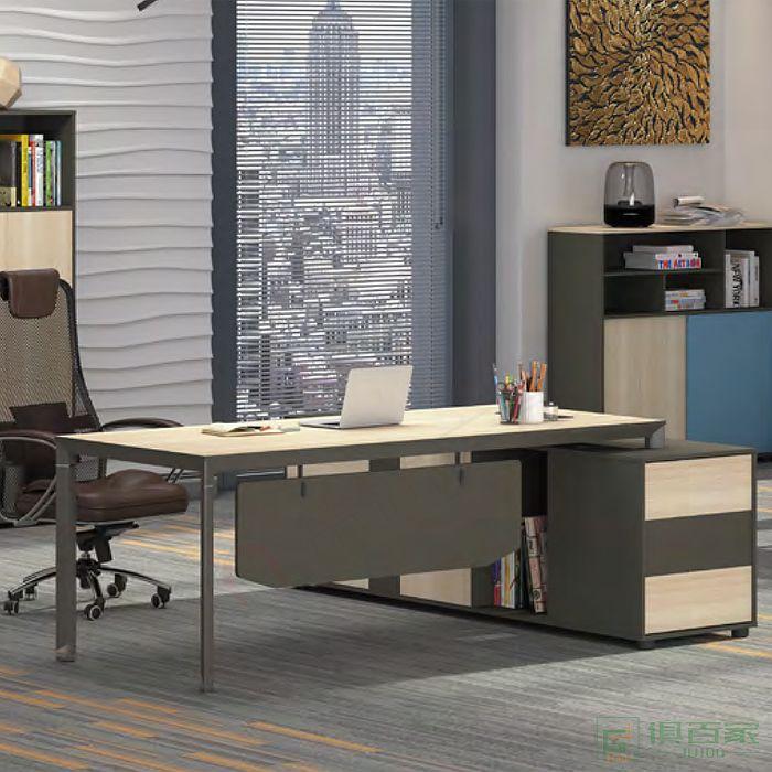 广立家具沃克系列班台老板桌