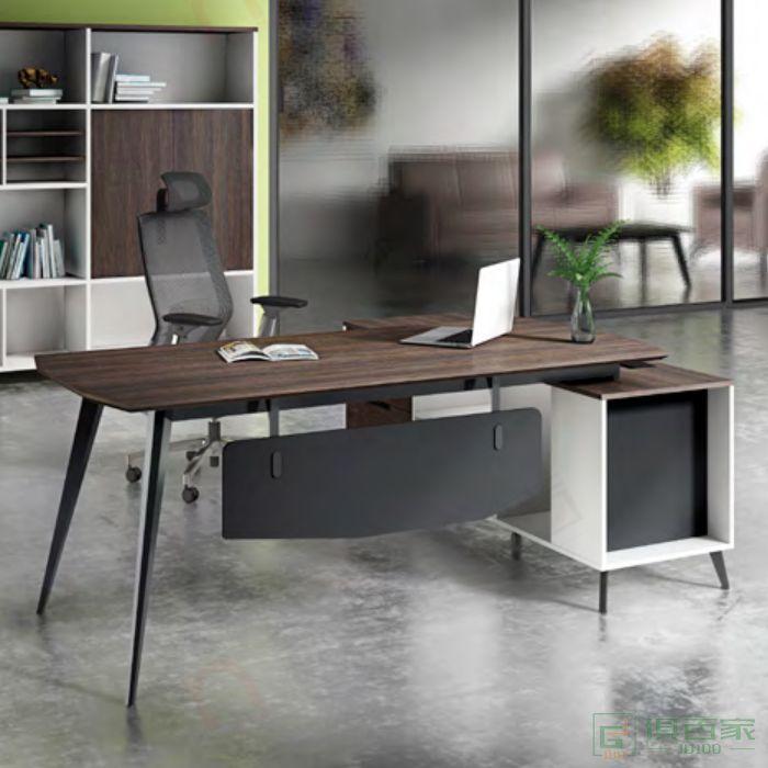 广立家具罗维系列班台经理桌