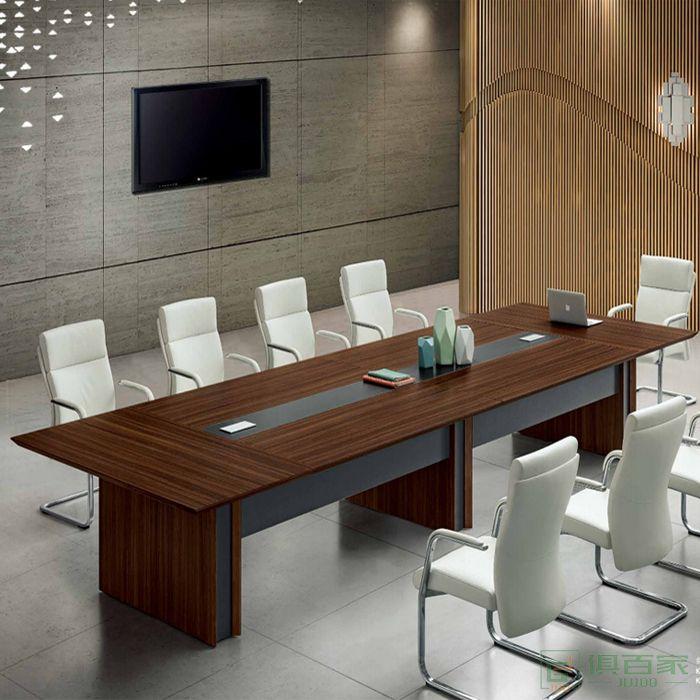 江南家具科特系列办公家具会议桌长桌简约现代大型板式