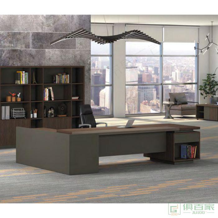 广立家具贝伦斯系列班台老板桌