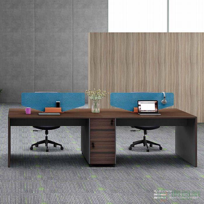 江南家具尚美系列办公室家具简约现代四人