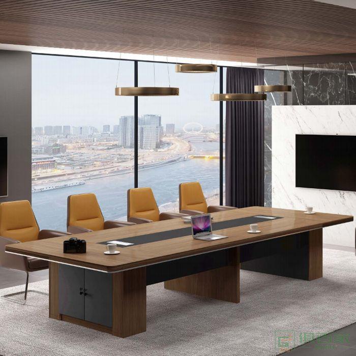 钜晟家具若斯系列会议桌大型会议桌