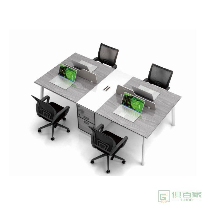 理邦家具家具西湖系列职员桌对坐四人位
