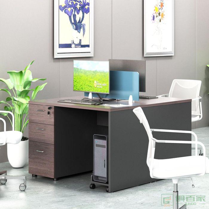 艾立森家具森度系列员工办公桌台桌椅组合财务桌