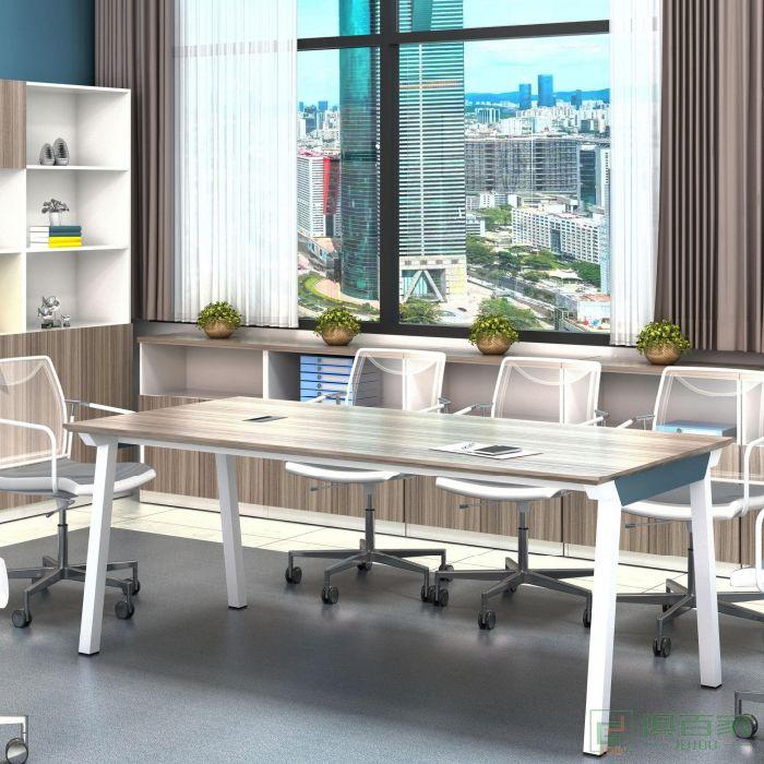 艾立森家具森雅系列会议桌小型会议桌