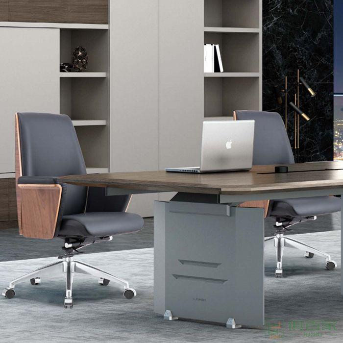 桦桂家具老板椅办公椅大班椅书房椅子升降可躺