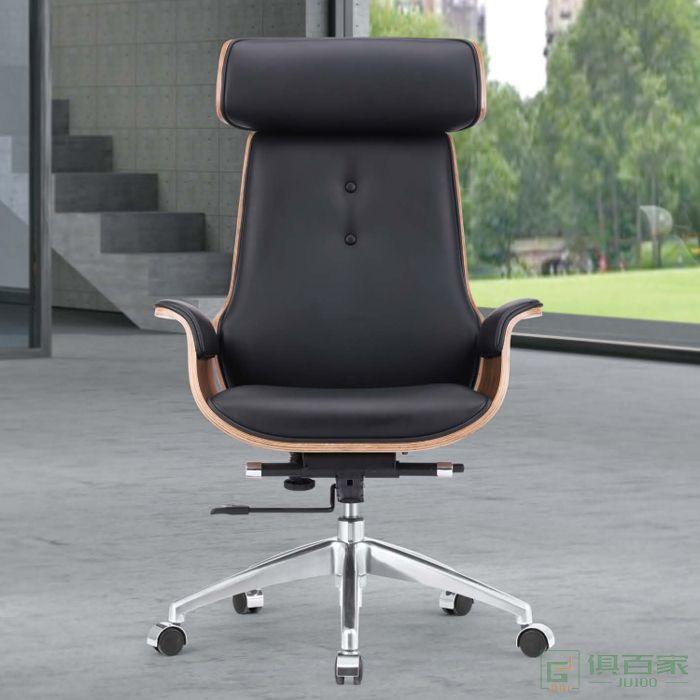 桦桂家具老板椅办公椅可躺电脑椅