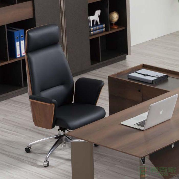桦桂家具大班椅舒适久坐电脑椅家用转椅高档椅子