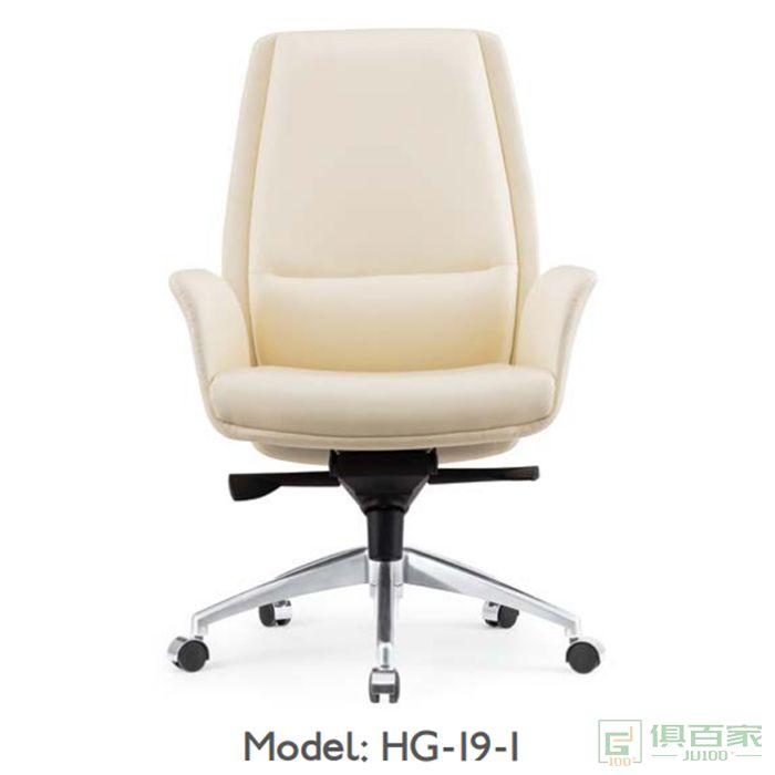 桦桂家具老板椅真皮办公椅子家用牛皮椅可躺电脑椅
