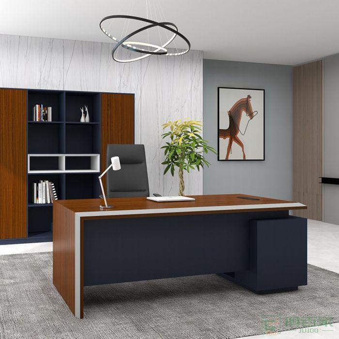 福玛仕家具尚坤系列办公室经理主管办公桌班台