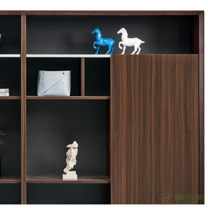 江南家具科特系列文件柜木质高柜老板办公室