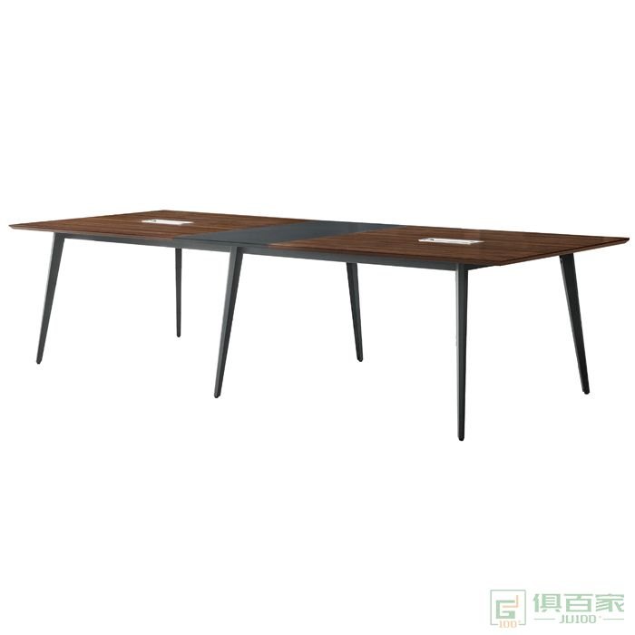 江南家具凌渡系列办公桌简约现代长条桌长桌会议室桌培训桌