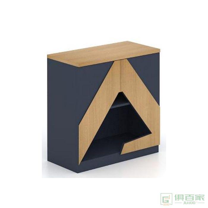 福玛仕家具简艺系列办公室文件柜资料矮柜木质