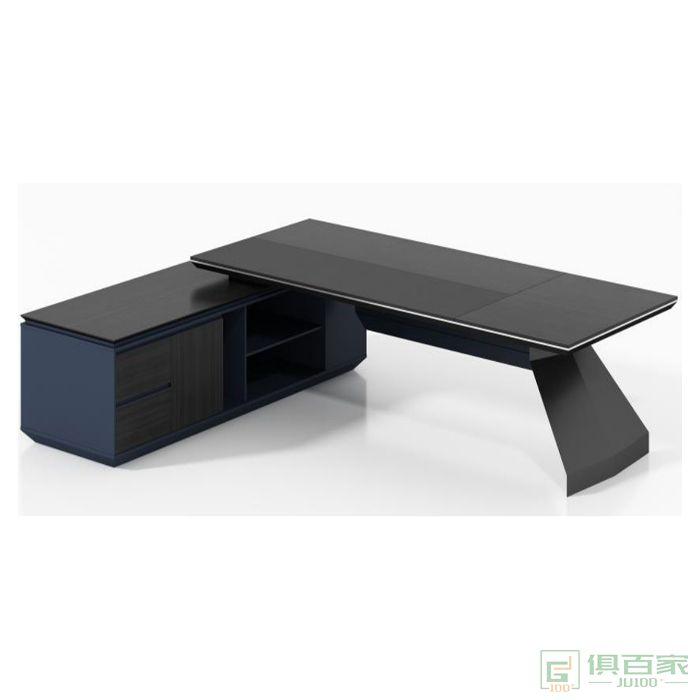 福玛仕家具尚睿系列班台总裁桌老板桌