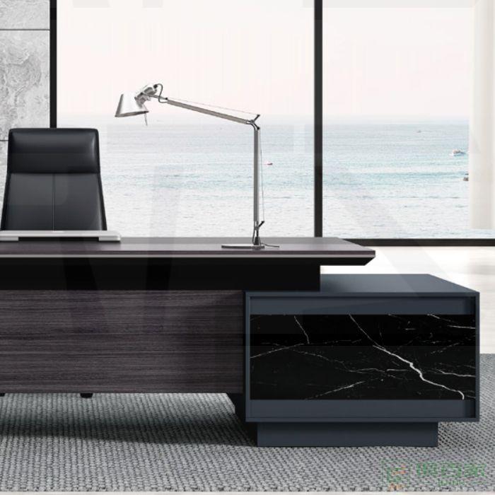 福玛仕家具尚睿系列班台老板桌办公室办公桌