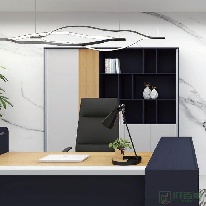 福玛仕家具简艺系列办公家具文件柜 木质高柜老板办公室书柜