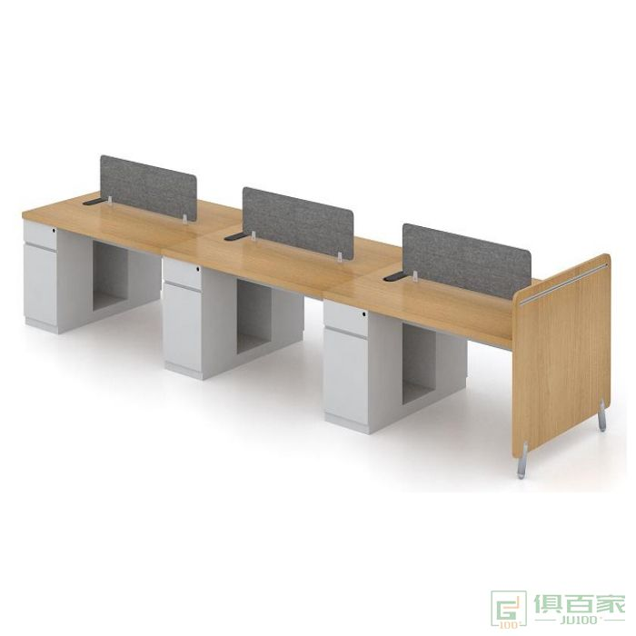 福玛仕家具简艺系列六人位职员桌工位简约现代