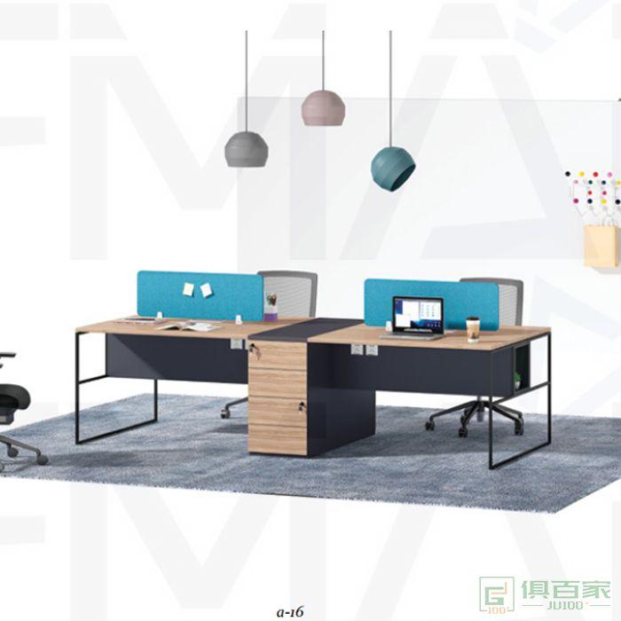 福玛仕家具尚睿系列职员桌电脑桌员工桌公司