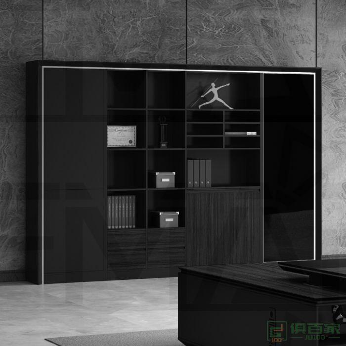 福玛仕家具尚睿系列办公室书柜木质文件柜资料档案柜