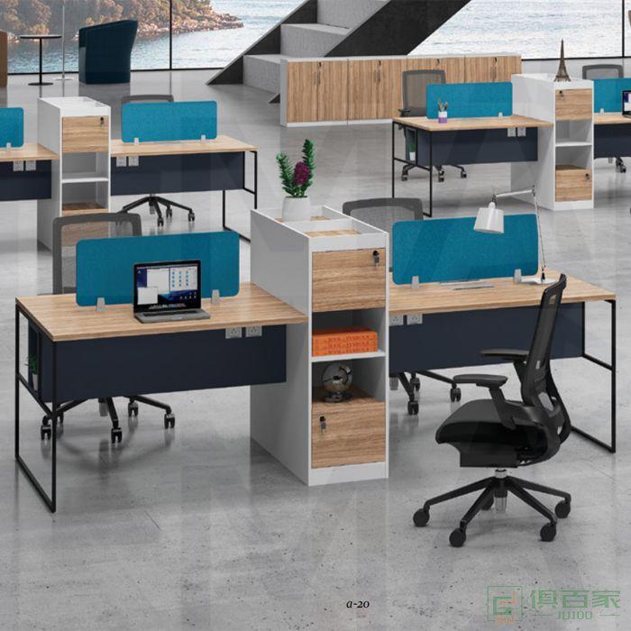 福玛仕家具尚睿系列办公桌简约现代老板桌职员桌