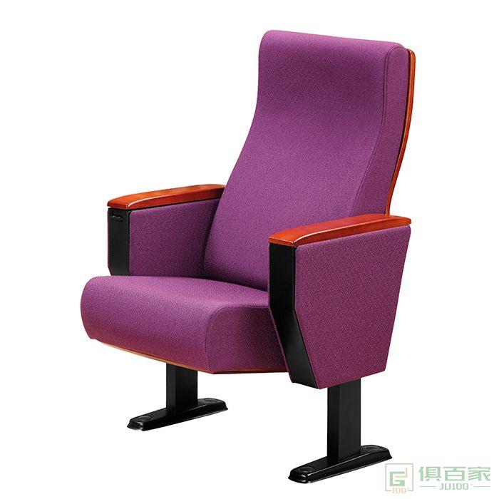 恺泰家具礼堂椅座椅带写字板多媒体教室排椅