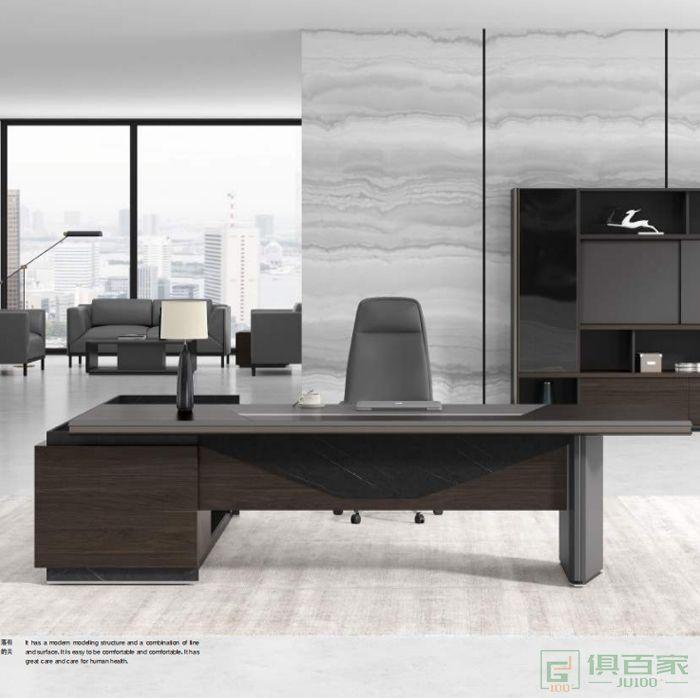沃盛家具品爵系列大班台老板电脑桌总裁桌